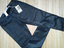 AMAZING RIVER ISLAND LADIES SHINY TROUSERS SKINNY JEANS SIZE 8 REGULAR (0.3