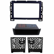 Radio Replacement Dash Mount Kit Single/Double-DIN for Chevrolet/Pontiac/Saturn