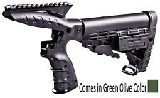 CMGPT500 CAA Tactical OD Green Stock System With Grip, Picatinny Rail & Stock