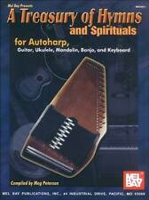 TREASURY OF HYMNS & SPIRITUALS FOR AUTOHARP GUITAR BOOK