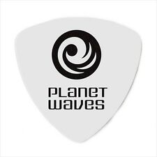 D'Addario Planet Waves Guitar Picks Rounded Tri  medium - .70mm  White