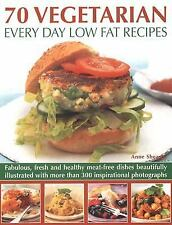 70 Vegetarian Every Day Low Fat Recipes: Discover  a new range of  fre-ExLibrary