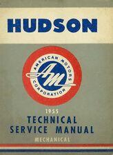 1955 Hudson Chassis Shop Service Repair Manual