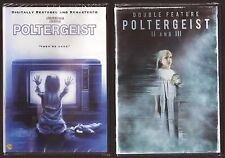 3-Movie Poltergeist 1, 2 & 3 - DVD Triple Feature BRAND NEW