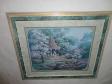 Home Interiors  Large ''Gazebo In The Park '' Picture  Gorgeous 24'' x 28'' SALE