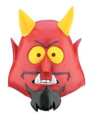 BRAND NEW 2006 Licensed South Park DELUXE ADULT DEVIL SATAN VINYL MASK