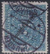 Österreich 1919 Nr. 243 B Wappen gez. 11,5