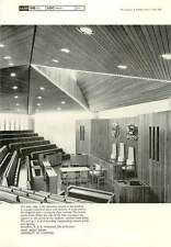 1967 Roof, Moot Room, University Of Liverpool 2 B. & N. Westwood, Piet