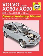 Volvo XC90 Repair Manual Haynes Workshop Service Manual  2003-2013 5630