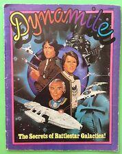 VTG 1978 DYNAMITE #54 -BATTLESTAR GALACTICA-Snoopy Peanuts-soapbox-Lorne Greene