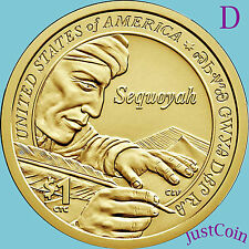 2017-D NATIVE AMERICAN SACAGAWEA DOLLAR FROM U.S. MINT ROLL UNCIRCULATED