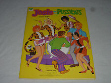 VINTAGE JOSIE AND THE PUSSYCATS PAPER DOLLS  WHITMAN BOOK 1971 HANNA BARBARA NEW