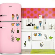 Removable Mural Vinyl Decal Wall Sticker Refrigerator Furniture Kitchen Decor