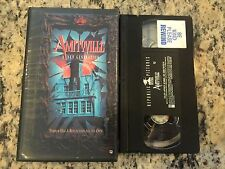AMITYVILLE A NEW GENERATION OOP VHS! 1993 HAUNTED MIRROR DEMONIC HORROR HTF!