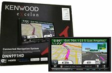 Kenwood Double Din Audio Video Navigation w/ Bluetooth Hd Radio New DNN991HD