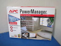 NEW - APC Power Manager POW6-WHT Power Surge Protector and Cable Manager