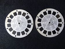View Master GAF 1969 PEANUTS - SNOOPY and THE RED BARON Reel 2 3 Set B5442 B5443