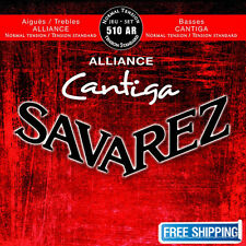 Savarez 510AR Guitar Strings Alliance Cristal Cantiga Classical Normal Tension