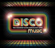 Disco Music: The Greatest Disco Anthology Ever New CD