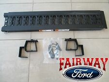 15 thru 17 Ford F-150 OEM Genuine Ford Aluminum Stowable Bed Single Ramp Kit NEW