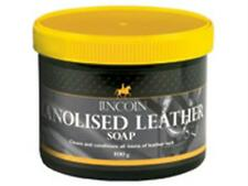 Lincoln lanolised leather saddle soap 400g