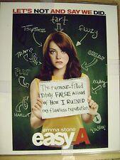 8 x 10 Emma Stone  authentic autograph UACC COA certified LA LA Land