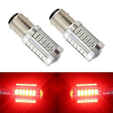2pc 12V 1157 5730 33SMD  LED Car Reversing Lamp Brake Lamp Red Lamp
