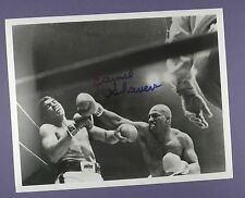 Ernie Shavers , Heavyweight Boxer - Signed 10 x 8 Inch Photo v Muhamed Ali