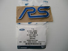 Ford Focus RS Mk2 09-12,NEW RS Name Plate,Blue/Crome Genuine Ford Part 1670626