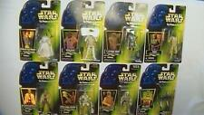 Star Wars POTF Lot of 8 New Figures Luke Leia Ackbar ASP-7 2-1B Hoth Rebel Bossk