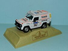 Norev Mercedes 280 GE Paris Dakar Rally 1983 Ickx/Brasser in display case