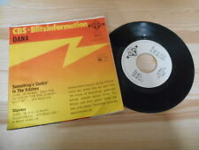 "7"" Pop Dana - Something's Cookin In The Kitchen CBS Promo Blitz-Info"