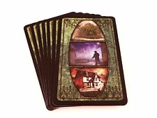 Arkham Horror Replacement Game Parts Green Merchant District Location Cards 7x