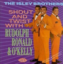 The Isley Brothers - Shout And Twist With Rudolph, Ronald & O'Kelly - Jeweled CD