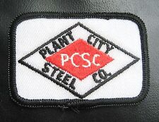 PLANT CITY STEEL EMBROIDERED SEW ON  PATCH COMPANY WELDING FABRICATION FLORIDA
