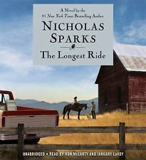 The Longest Ride by Nicholas Sparks  - Unabridged -11 CDS Brand New