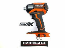 RIDGID 18v 18 VOLT GEN5X CORDLESS 3 SPEED IMPACT DRIVER GUN W/ LED LIGHTS R86035