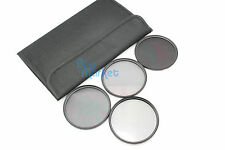 77mm ND2+ND4+ND8 + CPL Circular Polarizing Filter ND DSLR Set with FREE CASE