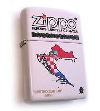 Zippo Beautiful ZFC CROATIA 4 Limited Edition 50 OFFICIAL RELEASE - MEGA Rare !