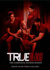 True Blood: The Complete Fourth Season (DVD, 2015, 5-Disc Set)