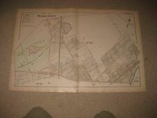 ANTIQUE MIDDLETOWN ORANGE COUNTY NEW YORK MAP HOMEOPATHIC INSANE ASYLUM HOSPITAL
