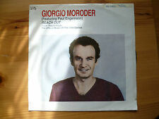 "Schallplatte Single 7"" Reach Out  Giorgio Moroder"