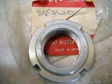 NOS OEM Suzuki Steering Stem Nut 1971-2000 TS125 GS500 GS750 51631-28000