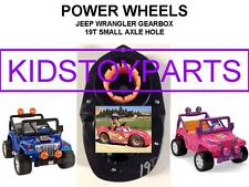 ONE 19T POWER WHEELS JEEP WRANGLER AND BARBIE JEEP GEARBOXES GEN 3 UPGRADE