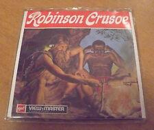 DISCHETTI VIEW MASTER ROBINSON CRUSOE 2-74 B438-I CON LIBRETTO