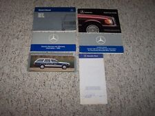 1989 Mercedes Benz 260E 300E 300CE 260 300 E CE Owner's Owners User Manual Set
