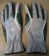Campagnolo Sportswear Flag Gloves, Size XL, Color Black / Grey