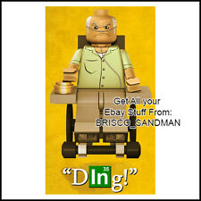 "Fridge Fun Refrigerator Magnet BREAKING BAD Lego: ""DING"" Hector Salamanca"