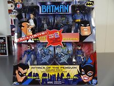 Batman Animated Series 4 Pack Attack of the Penguin