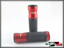 Ducati Monster M900 M620 M600 M400 Strada 7 Racing CNC Hand Grips Red